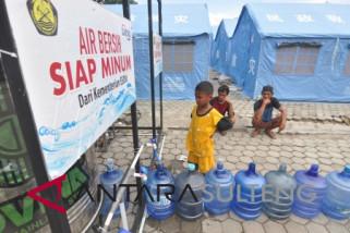 Fasilitas pengolahan air bersih di donggala dioperasikan