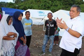 Bendahara Nasdem semangati korban pascabencana tsunami Donggala