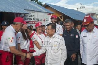 PMI bangun Base Camp di Palu