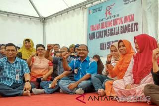 Pelaku UMKM mitra PT. Telkom ikut 'trauma healing'