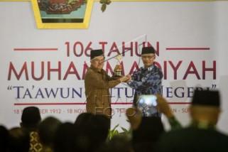 Wapres JK dianugerahi Muhammadiyah Award