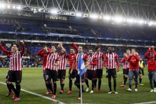 Espanyol kalahkan Bilbao untuk tekan Barcelona