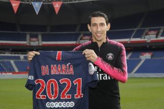 Di Maria perpanjang kontrak di PSG