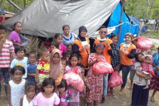 Logistik untuk korban bencana Palu cukup untuk seminggu