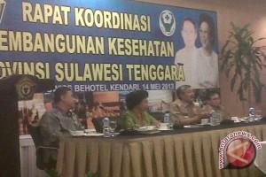 Menkes Buka Rakor Pembangunan Kesehatan Di Sultra