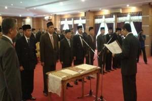 Gubernur Sultra Lantik Pejabat Eselon Dua