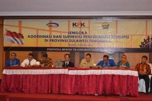 KPK Gelar Semiloka Pencegahan Korupsi Di Sultra