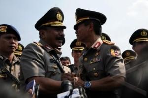 Timur Serahkan Tongkat Komando Kapolri Ke Sutarman