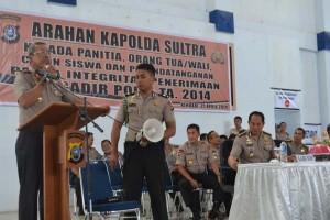 Pendaftar Bintara Polri Polda Sultra 2014 Membludak