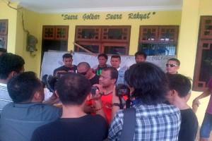Massa Simpatisan Kuasai Kantor Partai Golkar Sultra