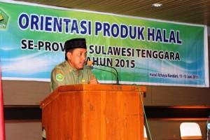 Kemenag Sultra Gelar Orientasi Produk Halal