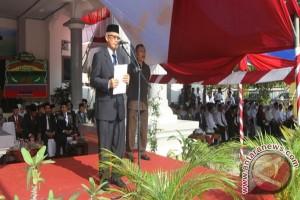 Sekda Sultra Pimpin Upacara Peringatan HAB Ke-70