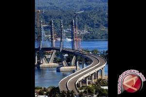 Presiden Resmikan Jembatan Terpanjang Di Indonesia Timur