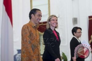 Presiden Jokowi dan Mogherini Bahas Isu Imigran