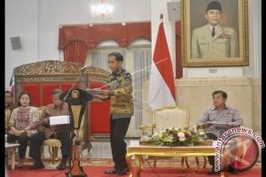 Presiden: Baru Tiga Kementerian Realisasikan Belanja