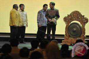 Presiden Buka Munaslub Golkar Harapkan Kerja Sama