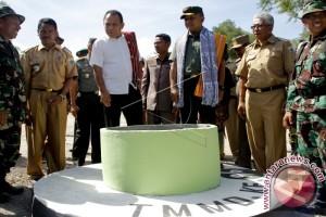 Pangdam Tutup Kegiatan TMMD Di Desa Batnun-NTT