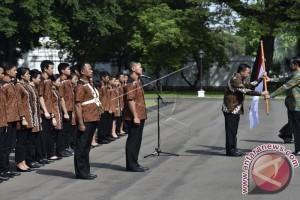 Presiden Nantikan Indonesia Raya Berkumandang Di Brazil