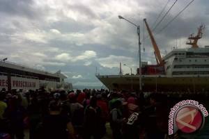 Arus Mudik Di Pelabuhan Baubau Mulai Melonjak
