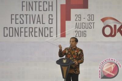 Presiden Buka Fintech Festival Bahas Penggunaan Aplikasi Digital