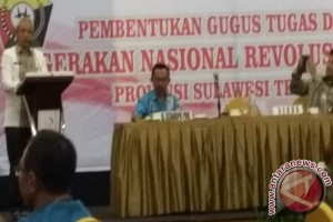 Pemprov Sultra Dukung Gugus GN Revolusi Mental