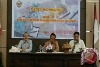 BPK Workshop Dengan Sejumlah Media Di Kendari