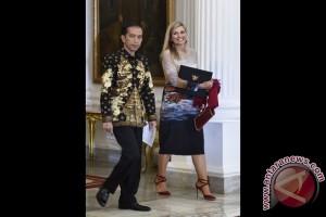 Jokowi dan Ratu Maxima Bahas Inklusi Keuangan