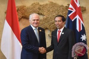 Presiden-PM Australia Sepakat Tingkatkan Kerja Sama
