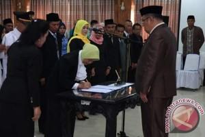 Wali Kota Kendari Lantik 123 Pejabat Eselon