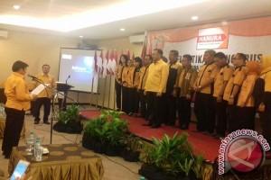 Chairuddin Ismail Lantik Pengurus DPD Hanura Sultra