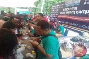 BI Sultra Kampanye Gerakan Peduli Koin