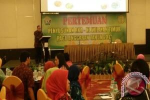 Wagub Buka Pertemuan RKA-KL Perkebunan Wilayah Timur