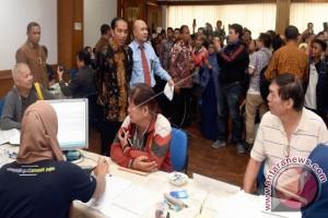 Jokowi Sidak Pelayanan Amnesti Pajak