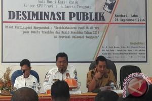 KPU Sultra Dorong Pemilih Salurkan Hak Pilih