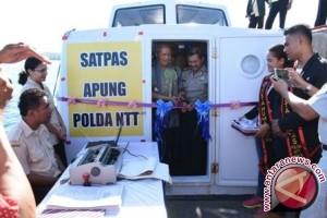 Urus SIM Terapung, Polda NTT Raih Rekor MURI