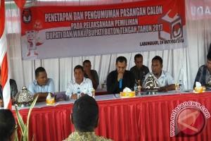 KPU Buton Tengah Tetapkan Dua Pasangan Cabup
