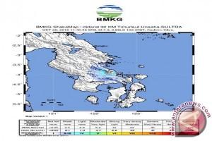 Kendari Diguncang Gempa Berkekuatan 4,3 SR