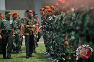 Presiden Ucapkan Terima Kasih Kepada Prajurit TNI