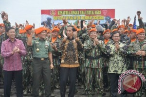 KUNJUNGAN PRESIDEN KE KORPASKHAS TNI AU