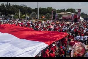 Parade Bhinneka Tunggal Ika Diikuti 97.000 Massa