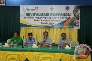 Antam Revitalisasi Posyandu Kecamatan Pomalaa