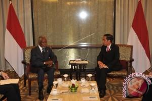 Kofi Annan Hargai Niat Indonesia Bantu Rohingya