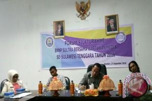 BNNP - Wartawan Komitmen Cegah Narkoba