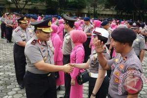 1.041 Personel Polda Sultra Naik Pangkat