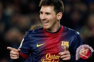 Lionel Messi ciptakan gol ke-100 di Liga Champions