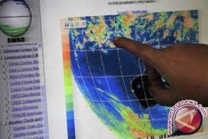 BMKG: Sejumlah Wilayah Sultra Hujan Disertai Guntur