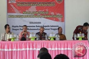 Senator Sosialisasikan Pilar Kebangsaan Di Konawe Kepulauan