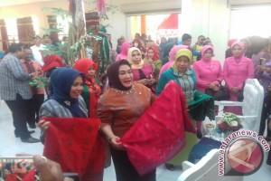 Tina Nur Alam Resmikan Gedung Dekranasda Muna