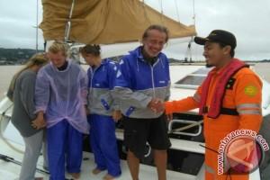 Empat WNA Dievakuasi dari Kapal Yang Mati Mesin