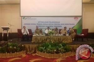 BPJS Ketenagakerjaan Kendari Sosialisasikan Program Jasa Konstruksi